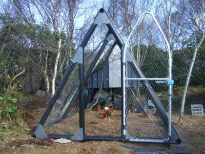 space age hen house