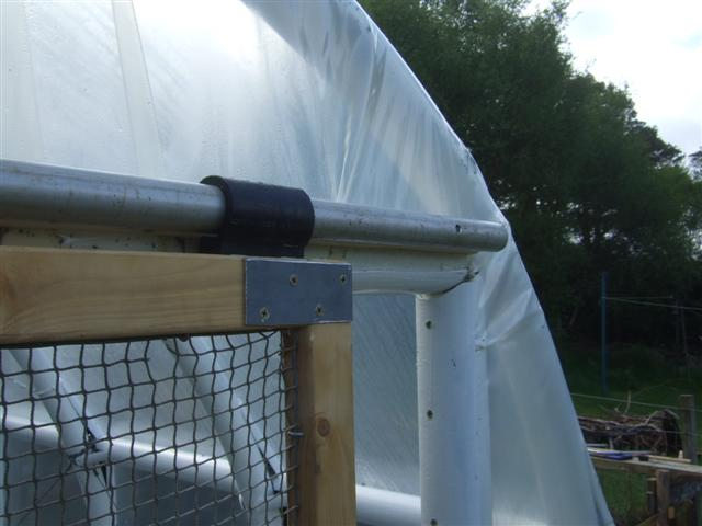 The tunnel now has a sliding door at each and the action of which is as smooth as silk on itu0027s aluminium rail and plastic runners. & polytunnel | Life at the end of the road