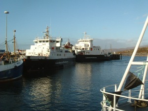 Loch Nevis and Courisk at Mallaig