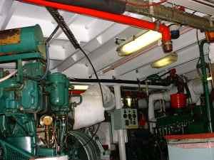 engine room 'ceiling'
