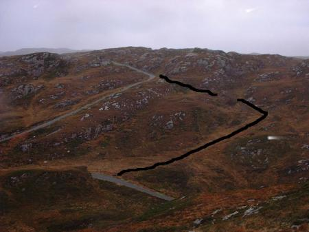 The real 'Calum's road'