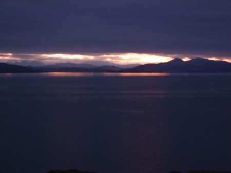 Sunrise over Kyle