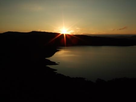 Loch Arnish sunset 29/12/08