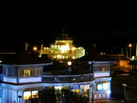 Rothesay at night