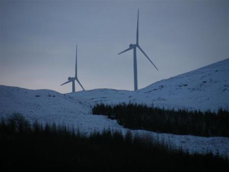 Glen Morriston wind turbines