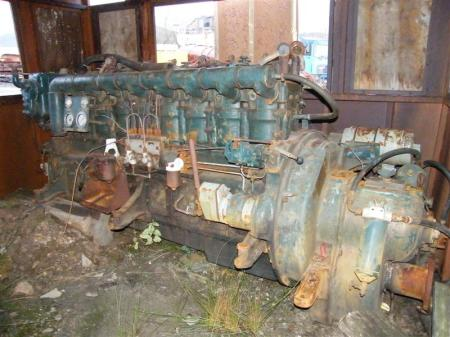 Kelvin 8 cylinder diesel engine