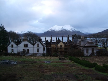 Raasay house and garden 26/1/09