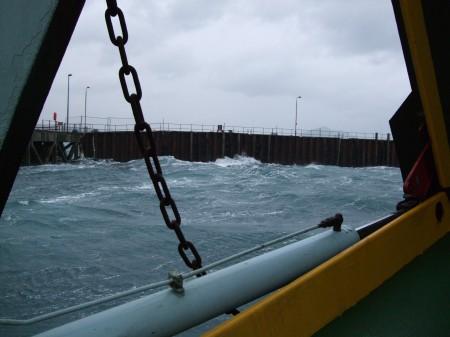A good safe berth!