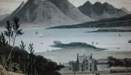 Raasay house circa 1818