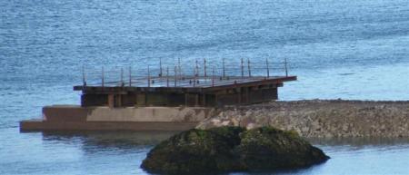 3 section crane platform
