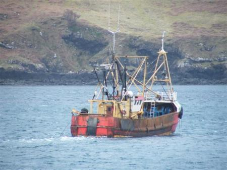 OB 11 clam dredger