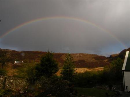 Arnish rainbow