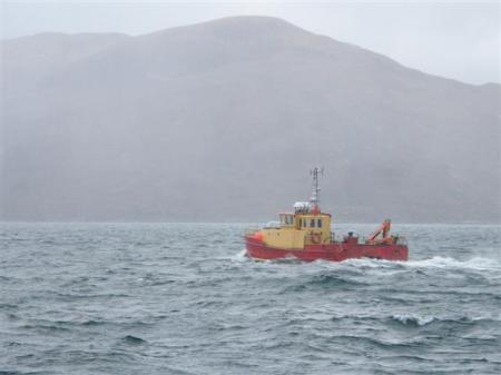 catermaran workboat