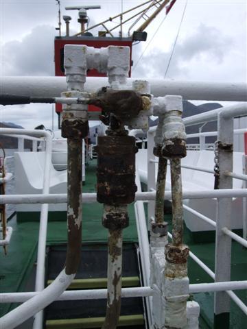 Fwd Capstan valve