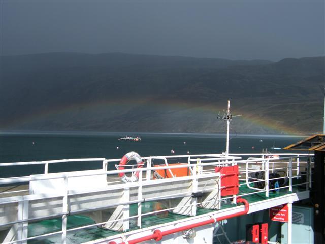 Hi speed rainbow
