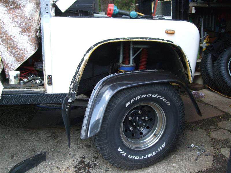 wheel arch off