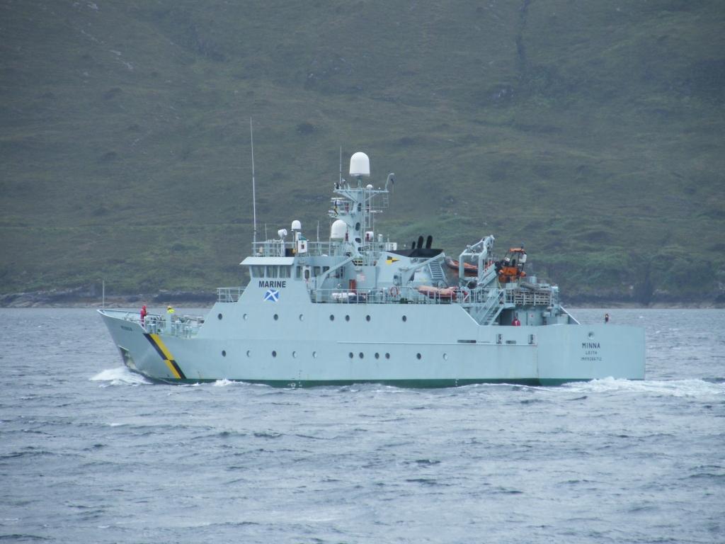 Fisheries Protection vessel 'Minna'