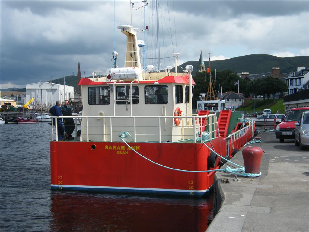 Landing craft 'Sarah Anne' of Oban