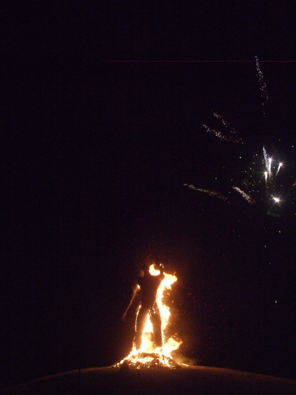 Burning the Wickerman