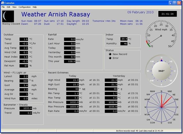 weather 090210