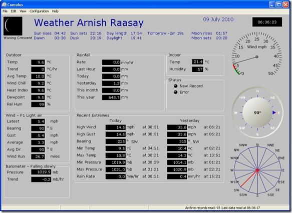 weather 090710