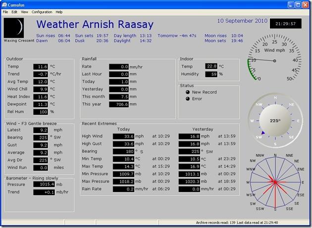 weather 100910