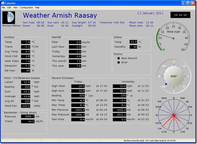 weather 130111
