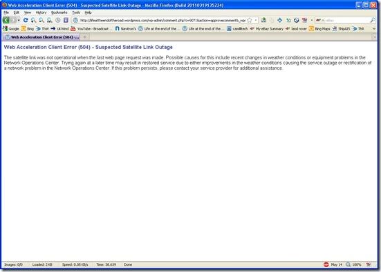 web acceleration client error 504