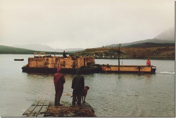 pontoon and sea truck