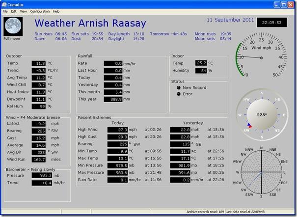 weather 110911