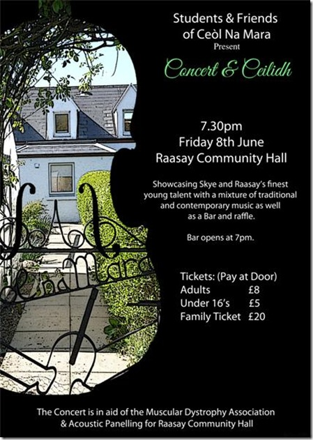 poster for raasay A4 (Medium)
