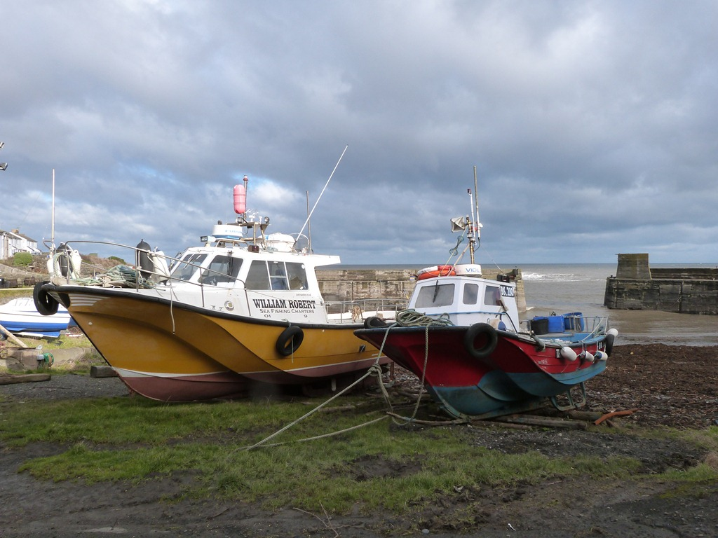 From cullercoats to whitley bay life at the end of for Offshore fishing boat