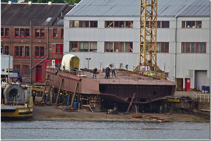 Stuart M's hybrid hull