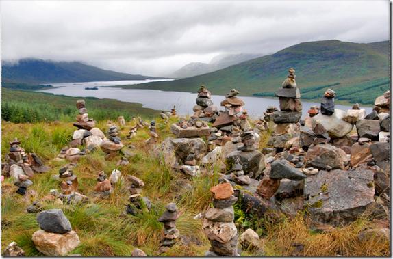 Loch Loyne stones